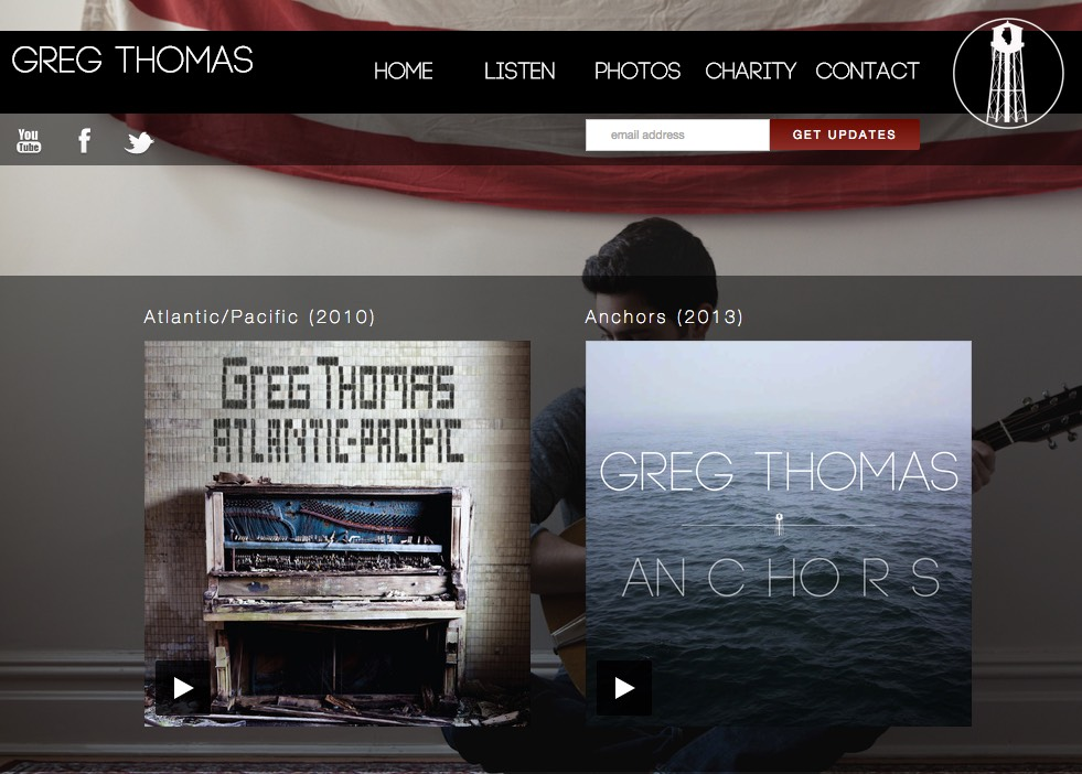 Greg Thomas Website